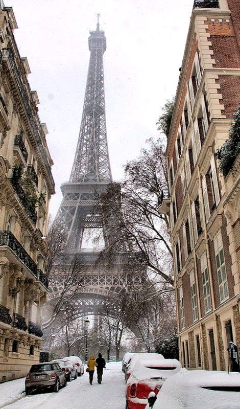 Winter in Paris on Belle Belle Beauty