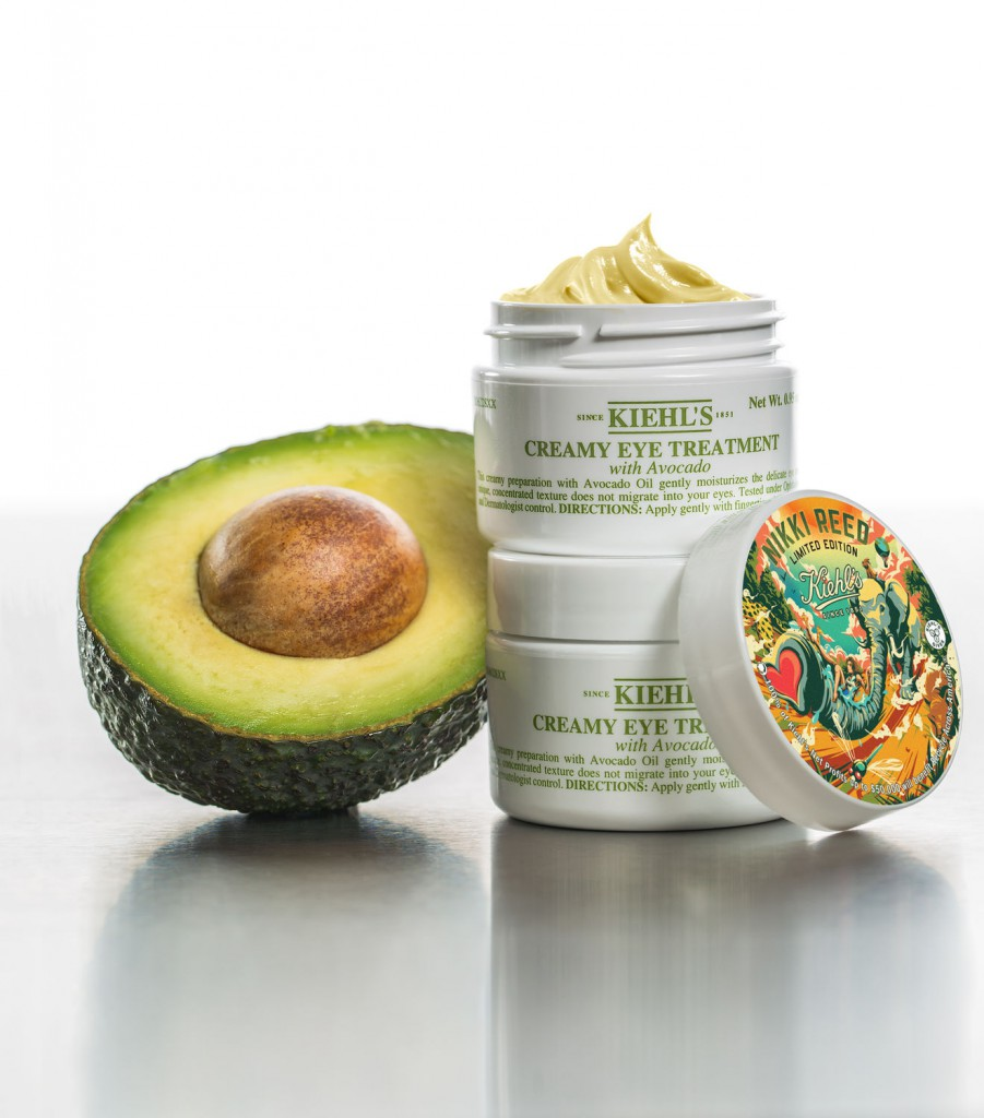 Kiehl's Limited Edition Creamy Eye Treatment with Avocado - Nikki Reed on Belle Belle Beauty
