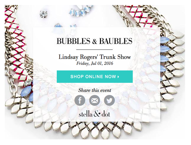 Stella & Dot Summer Soirée and Giveaway on Belle Belle Beauty