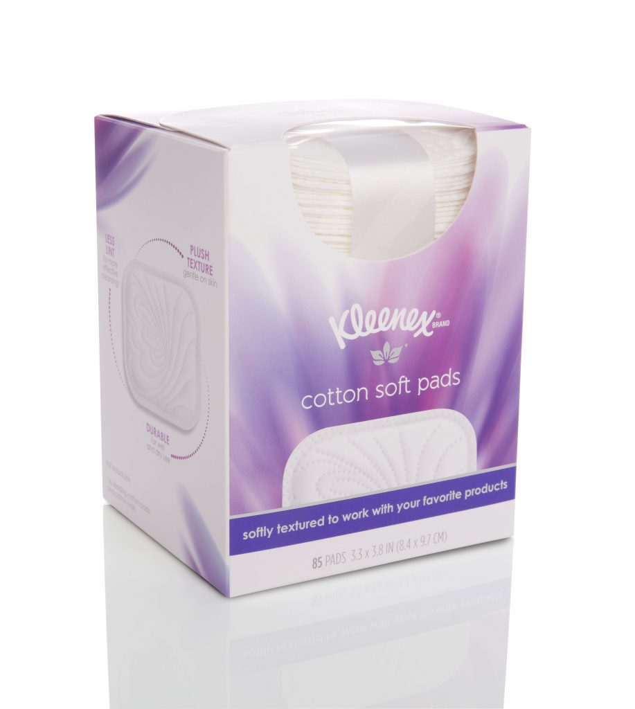 Kleenex Cotton Soft Pads on Belle Belle Beauty