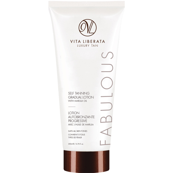 Vita Liberata Fabulous Self Tanning Gradual Lotion with Marula Oil on Belle Belle Beauty