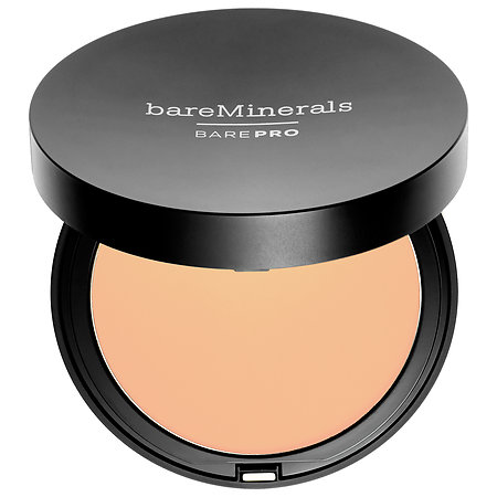 bareMinerals BAREPRO Performance Wear Powder Foundation on Belle Belle Beauty