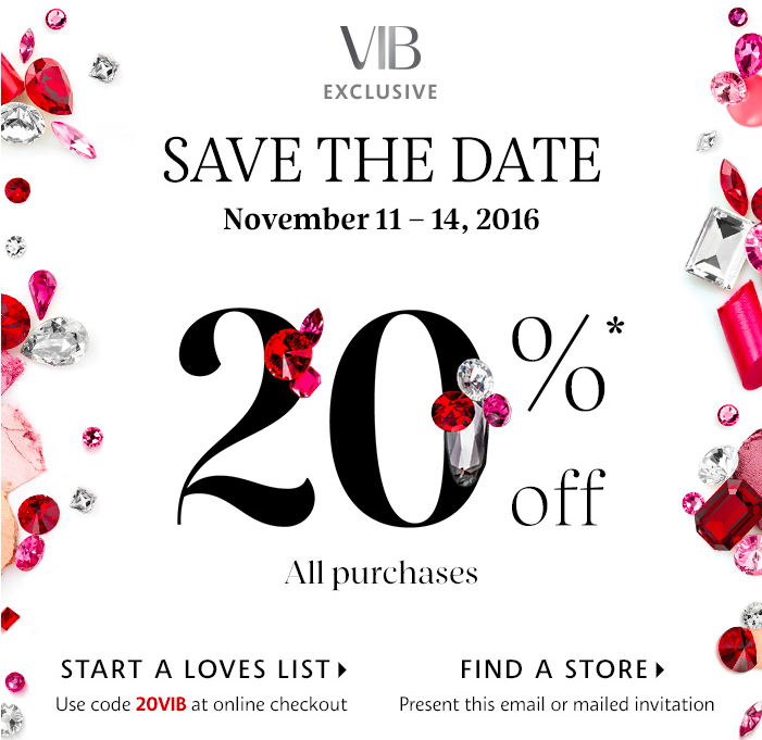 Sephora's VIB Sale on Belle Belle Beauty