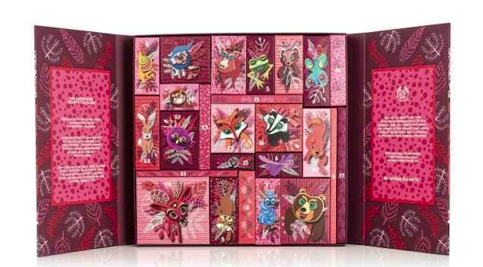 The Body Shop 25 Days of the Enchanted Deluxe Advent Calendar on Belle Belle Beauty